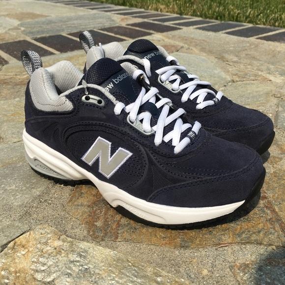 17544f3a0aaae New Balance Shoes | Non Slip Walking Work Blue Sz 5 | Poshmark